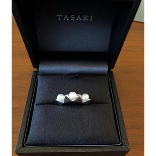 タサキ(TASAKI)のTASAKI K18WG リファインド リベリオン インデント リング(リング(指輪))