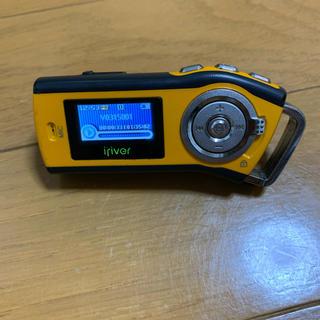 アイリバー(iriver)のiriver T10 1GB オレンジ(ポータブルプレーヤー)
