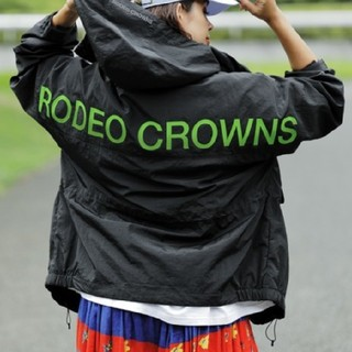 ロデオクラウンズワイドボウル(RODEO CROWNS WIDE BOWL)の新品(男女兼用)ブラック※早い者勝ちノーコメント即決しましょう。コメントやめよう(ナイロンジャケット)