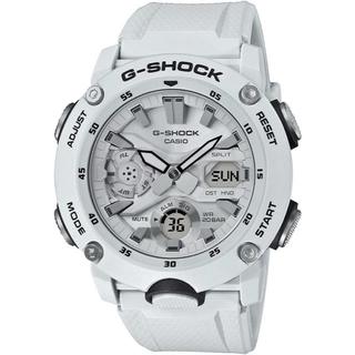 G-SHOCK - カシオ G-SHOCK カーボンコアガード 腕時計 GA-2000S-7AJF白