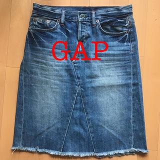 ギャップ(GAP)の値下げ!!GAPデニムスカート(ひざ丈スカート)