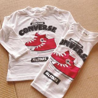 コンバース(CONVERSE)の新品2枚セット(Tシャツ/カットソー)