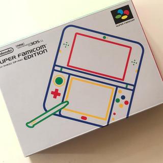 ニンテンドー3DS(ニンテンドー3DS)の新品未開封 NINTENDO 3DSLL スーパーファミコンエディション 任天堂(携帯用ゲーム機本体)