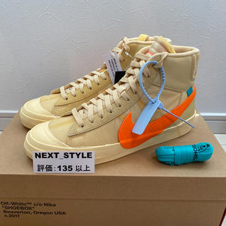 ナイキ(NIKE)の新品 29cm THE 10 NIKE BLAZER MID OFF WHITE(スニーカー)