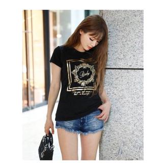 Rady - ホテルシリーズTシャツ  ブラック