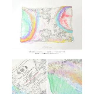 ファリエロサルティ(Faliero Sarti)の【新品未使用】 Faliero Sarti 地図柄ストール(ストール/パシュミナ)