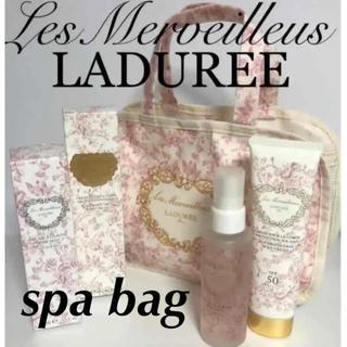 レメルヴェイユーズラデュレ(Les Merveilleuses LADUREE)のレ・メルヴェイユーズ ラデュレ スパバック(ハンドバッグ)