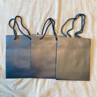 ハリーウィンストン(HARRY WINSTON)の【3枚】ハリーウィンストン ショップ袋(ショップ袋)