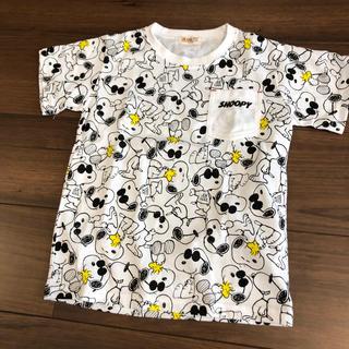 スヌーピー(SNOOPY)の美品!PEANUTS ・SNOOPY キッズ120㎝(Tシャツ/カットソー)