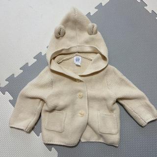 babyGAP - GAP くま耳 カーディガン