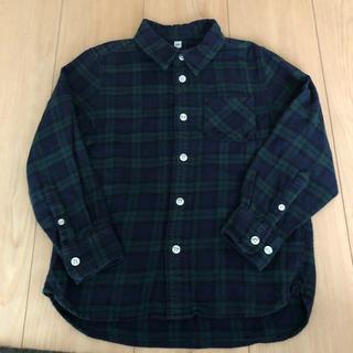無印良品 ネルシャツ 120cm MUJI