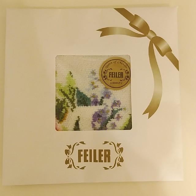 FEILER(フェイラー)のフェイラー 🌼イニシャルハンカチ レディースのファッション小物(ハンカチ)の商品写真