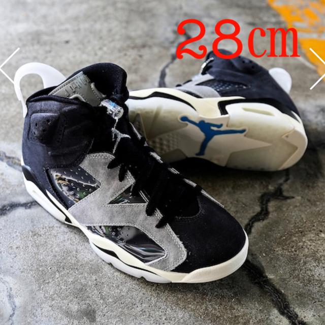 NIKE(ナイキ)のナイキ ウィメンズ エアジョーダン6  テック クローム 28㎝ レディースの靴/シューズ(スニーカー)の商品写真