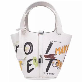 ZARA - 【限定入荷☆大人気】トムとジェリー ピコタン ペイント革ハンドバッグ