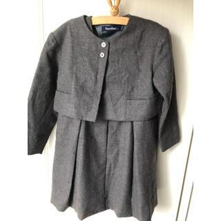 familiar - 子供服 familiar  スーツ 115  グレー 女の子