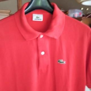 ラコステ(LACOSTE)のLACOSTEポロシャツ赤(ポロシャツ)