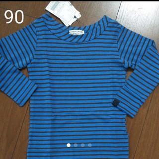 アンパサンド(ampersand)の90 ボーダー トップス ロンT 長袖(Tシャツ/カットソー)