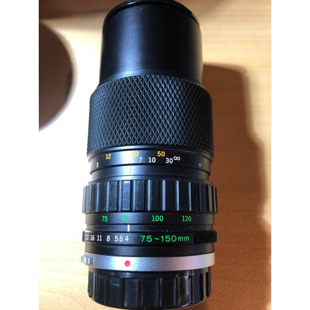 OLYMPUS(オリンパス)のOlympus ズーム2本セット 75-150、COSINA 75-300 スマホ/家電/カメラのカメラ(レンズ(ズーム))の商品写真