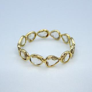 ローズカット ダイヤモンド フルエタニティー リング サイズ10(リング(指輪))