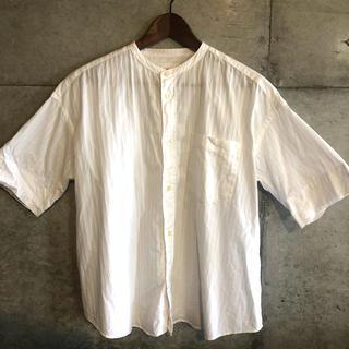ルグラジック(LE GLAZIK)のLE GLAZIC 白シャツ(シャツ/ブラウス(長袖/七分))