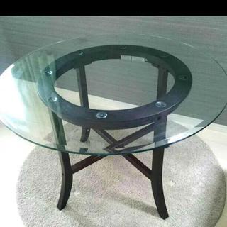 ニトリ(ニトリ)のガラステーブル ニトリ(ダイニングテーブル)