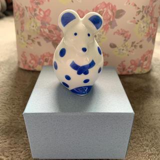 リサラーソン(Lisa Larson)の干支 ネズミ 北欧 置物 陶器 リサラーソン 2020  (置物)