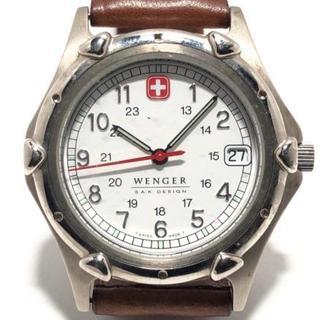 ウェンガー(Wenger)のWENGER(ウェンガー) 腕時計 レディース 白(腕時計)