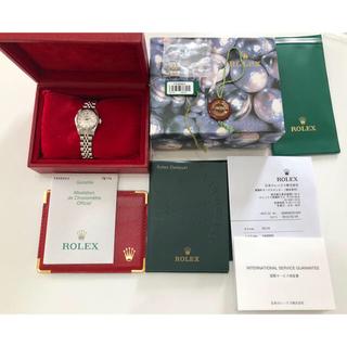 ロレックス(ROLEX)のROLEX DATE JUSTダイヤモンド(腕時計)