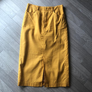 LOWRYS FARM - ローリーズファーム 黄色 ナロースカート