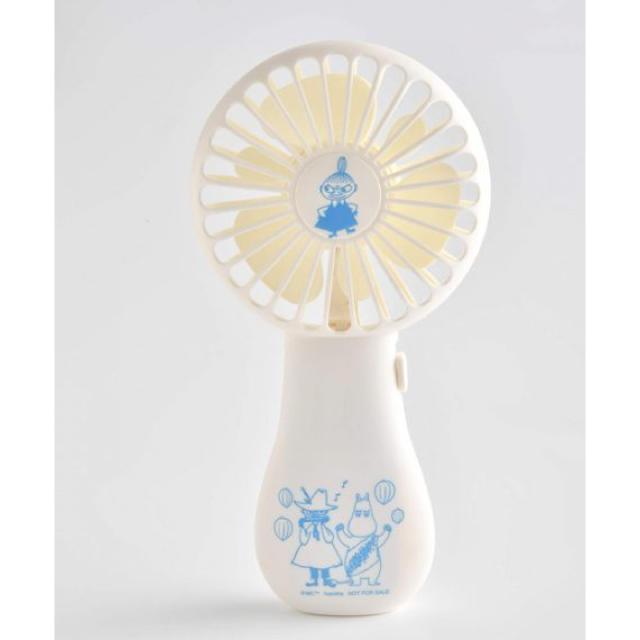 ムーミン ハンディ扇風機 クックパッドプラス 付録 スマホ/家電/カメラの冷暖房/空調(扇風機)の商品写真