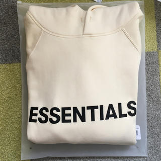 FEAR OF GOD - essentials fear of god 20ss hoodie M