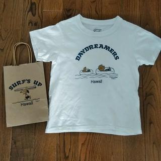 スヌーピー(SNOOPY)のハワイ限定 日焼けスヌーピー Tシャツ(Tシャツ/カットソー)