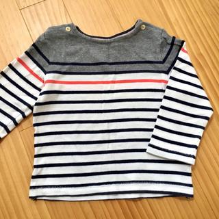 ベビーギャップ(babyGAP)のbabyGap ボーダーカットソー(Tシャツ/カットソー)
