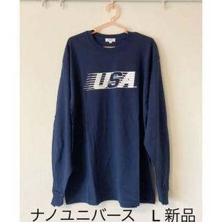 ナノユニバース(nano・universe)のナノユニバース ロンT 新品 L(Tシャツ/カットソー(七分/長袖))