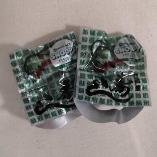 スヌーピー(SNOOPY)のSNOOPY *寿司 ストラップ 2個セット アクセサリーパーツ(ストラップ)
