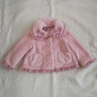 Shirley Temple - シャーリーテンプル コート 80~90センチ