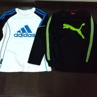 adidas - アディダス、プーマ長袖2枚セット サイズ130