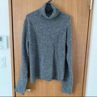 グレー ニット セーター