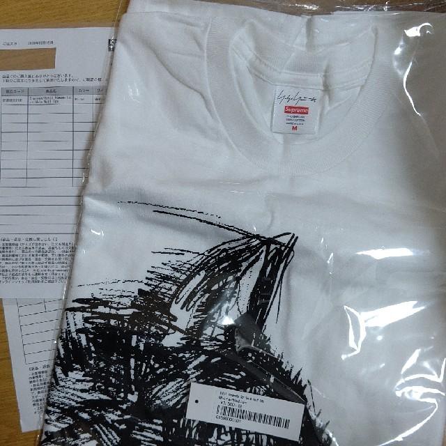 Supreme(シュプリーム)のSupreme®/Yohji Yamamoto®Scribble Wolf メンズのトップス(Tシャツ/カットソー(半袖/袖なし))の商品写真