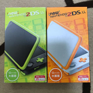 ニンテンドー3DS(ニンテンドー3DS)の2DSll 2つセット 2dsll(その他)