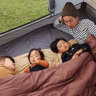 ドッペルギャンガー(DOPPELGANGER)のDOD わがやのシュラフ 寝袋 キャンプ(寝袋/寝具)