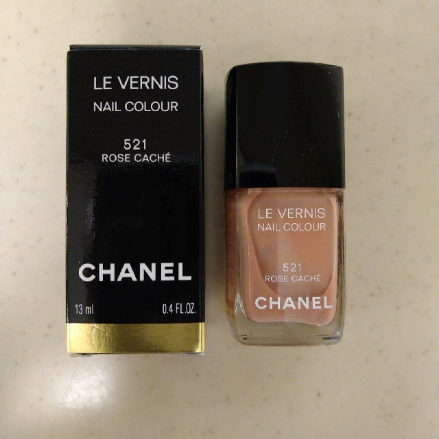 CHANEL(シャネル)のシャネルネイル 521 ローズカシェ コスメ/美容のネイル(マニキュア)の商品写真