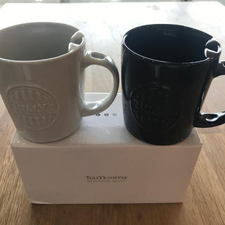 タリーズコーヒー(TULLY'S COFFEE)のタリーズコーヒー マグカップ2個セット(グラス/カップ)
