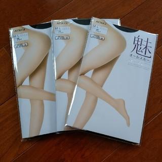 Atsugi - アツギ 魅 オールスルー ストッキング