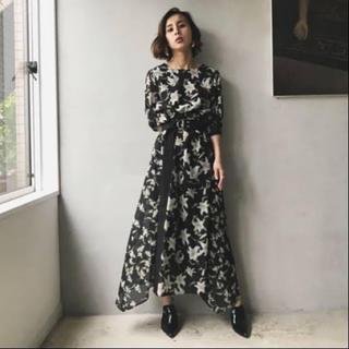 Ameri VINTAGE - 【アメリヴィンテージ 】TWIN LILY DRESS ツインリリードレス