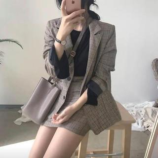 ジャケット×スカート セットアップ 韓国