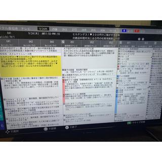 SHARP - アクオス40インチ4Kテレビ