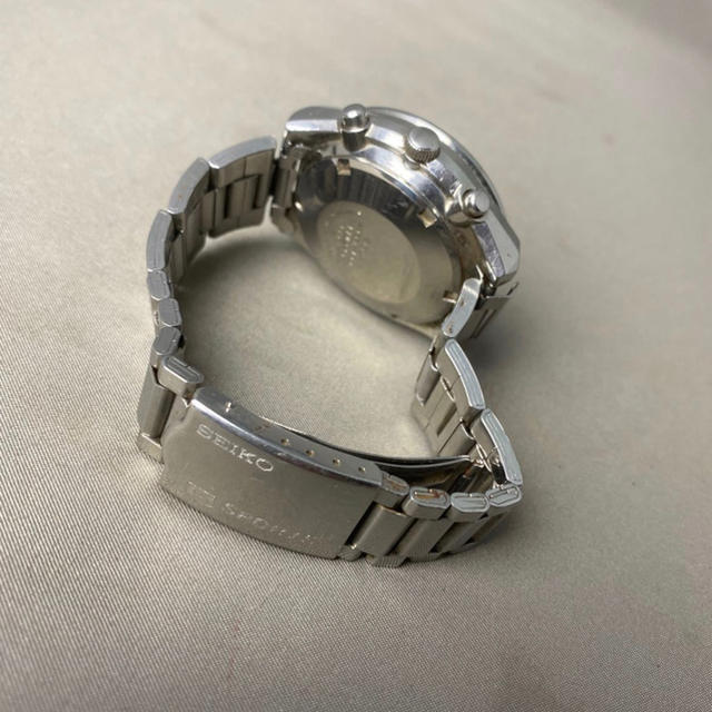 SEIKO(セイコー)のSEIKO 5スポーツ スピードタイマー 角目 クロノ 6138-0030 時計 メンズの時計(腕時計(アナログ))の商品写真
