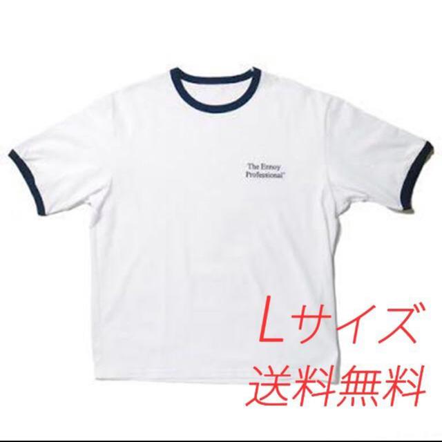 1LDK SELECT(ワンエルディーケーセレクト)のennoy リンガーTシャツ メンズのトップス(Tシャツ/カットソー(半袖/袖なし))の商品写真