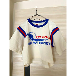 BEAMS BOY - ショート丈 サーフ  Tシャツ